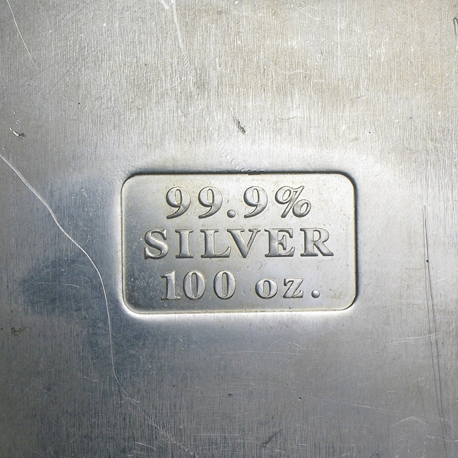 100 oz Silver Bars - Perth Mint (Vintage/Pressed)